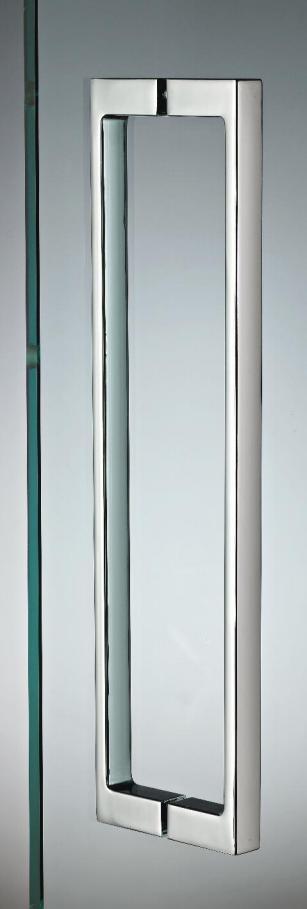 Maniglia pman1340 zama doppia quadra per porte in vetro maniglioni e pomoli sistemi logli - Vetro per porta prezzo ...