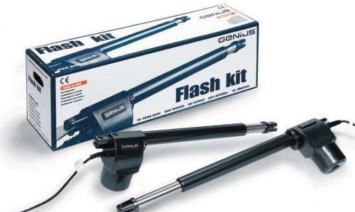 Kit automazione per cancelli 2 ante G-Flash