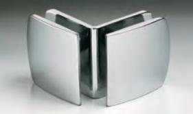 Morsetto serie 400 vetro/vetro 90° S4007®
