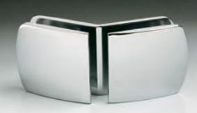 Morsetto serie 400 vetro/vetro 135° S4009®