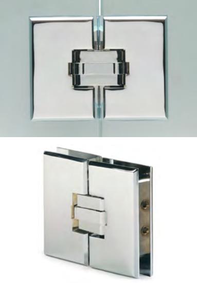 Cerniera 31 vetro/vetro in linea di sicurezza CER31®