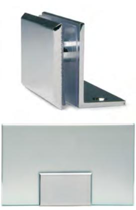 Fermavetro di sicurezza 80 x 50 con aletta MORS033®