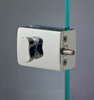 Chiusure serie 200 senza fori sul vetro chiusura con pomello serie 200 CLS245®