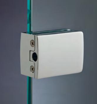 Chiusure serie 200 senza fori sul vetro cartella di riscontro per ante a battente grande CLS68®
