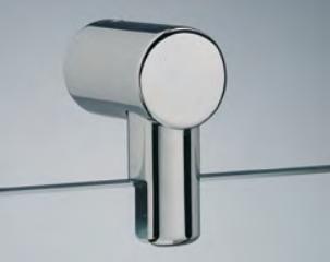 Attacco vetro con morsetto 6/10 mm MF04®