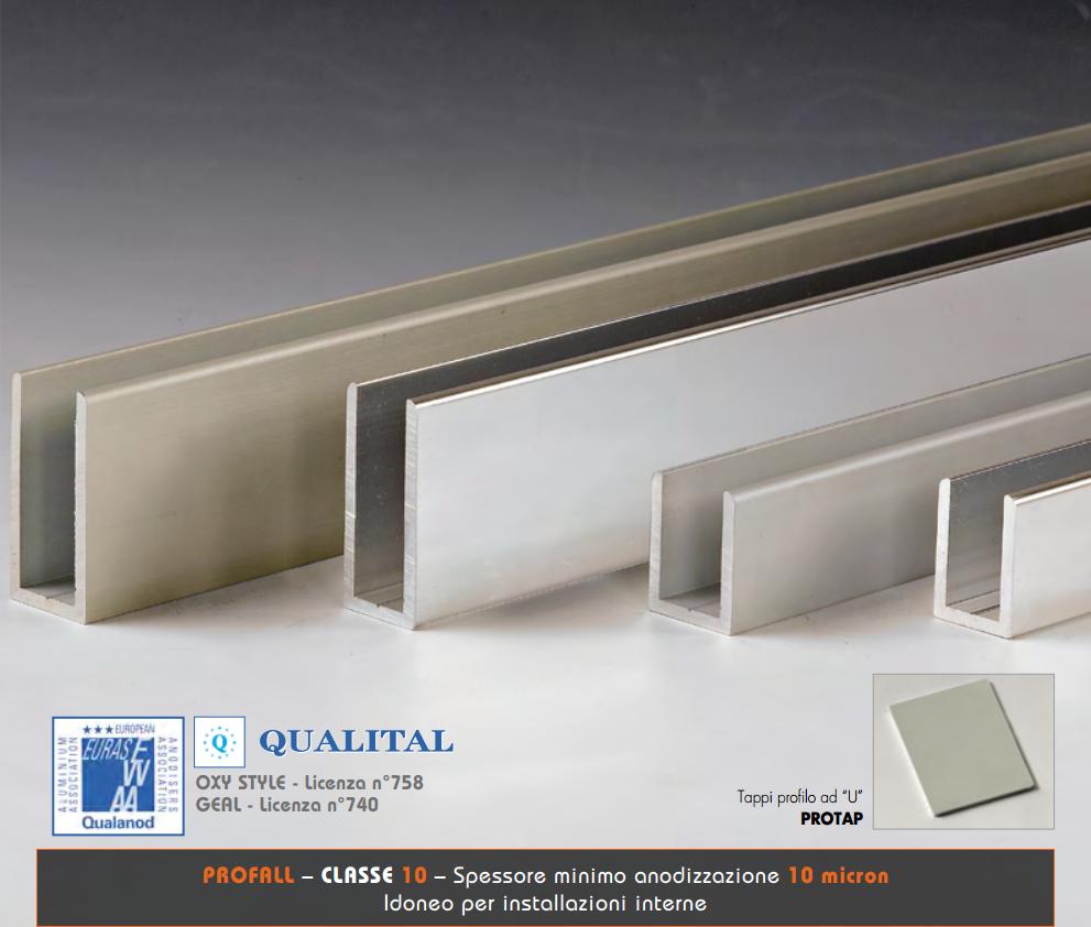 Profili per pareti doccia oxy style PROFALL-PROTAP®