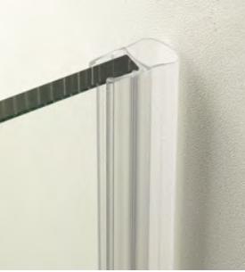 Guarnizione per pareti doccia con palloncino per vetri 6/8 mm GM05®