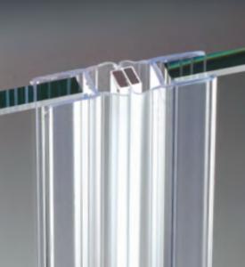 Guarnizione per pareti doccia magnetica per vetri 6/8 mm GM66®