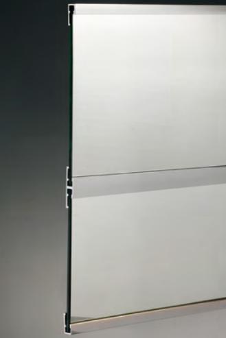 Profilo per supporto specchi doppio mtd MTD3000®