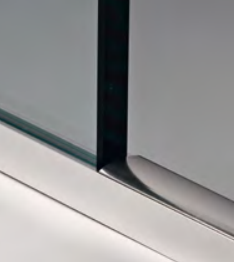 Diga in alluminio per pareti doccia PBD®