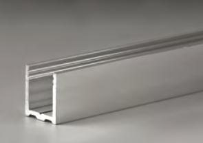 """Profilo fisso inferiore ad """"u"""" in alluminio LMU20®"""