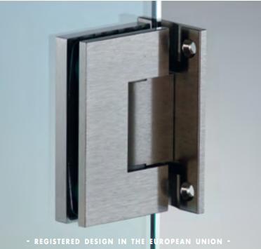 Cerniera centrale serie hd square regolabile per vetri 8/12 mm DQ42®