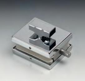 Chiavistello serie hd square per vetri 10/12 mm DQC63®