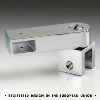 Prolunga passante laterale con morsetto snodato serie hd square DQA90®
