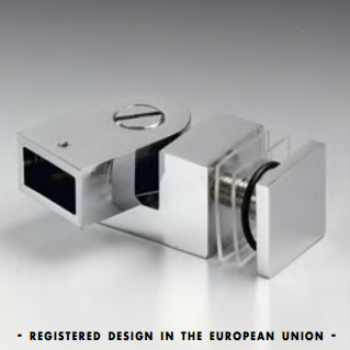 Attacco vetro snodato serie hd square DQA89®