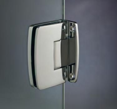 Cerniera con copertina serie hd small regolabile centrale per vetri 6/8 mm CHD12®