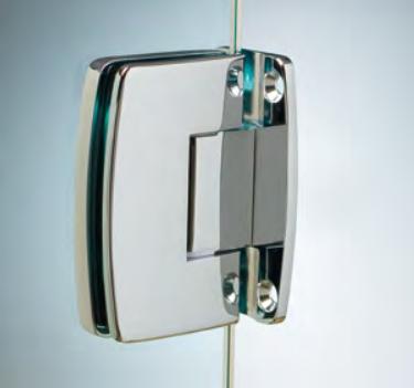 Cerniera con copertina serie hd regolabile centrale per vetri 8/10 mm CHD22®