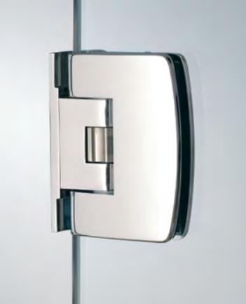 Cerniera serie 400 small regolabile laterale per vetri 6/8 mm S150®