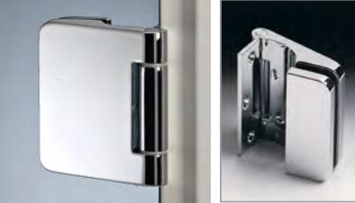 Cerniera verticale per stipiti in ottone CER148®