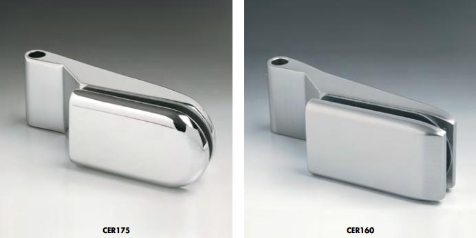 Cerniere per stipiti da inserire su pivot di 10 mm CER175-CER160®
