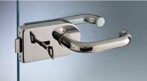 Serratura serie 120 small per stipiti con chiave patent S1207K®