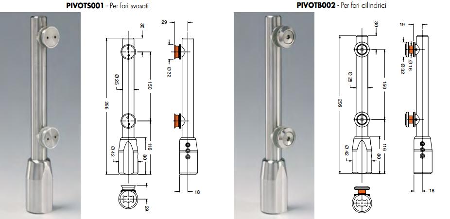 Pivot inferiore PIVOTSB12®