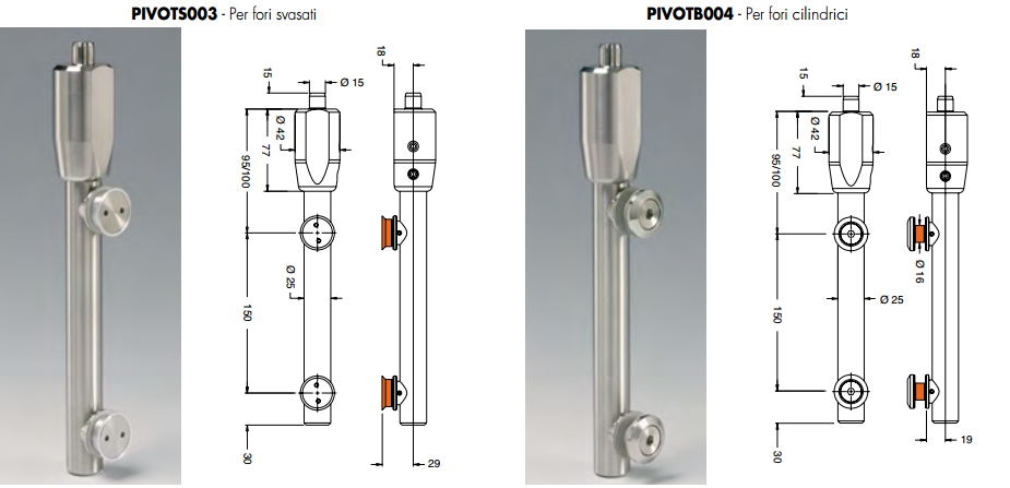 Pivot superiore PIVOTSB34®