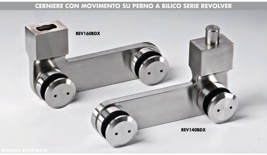 Cerniera revolver cb inferiore REV160B®