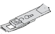 Fermo meccanico per chiudiporta aereo ts 3000 v - optional GZ-TS071924®