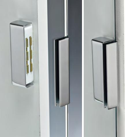 Calamite per porte con cover in ottone CAL005-8®