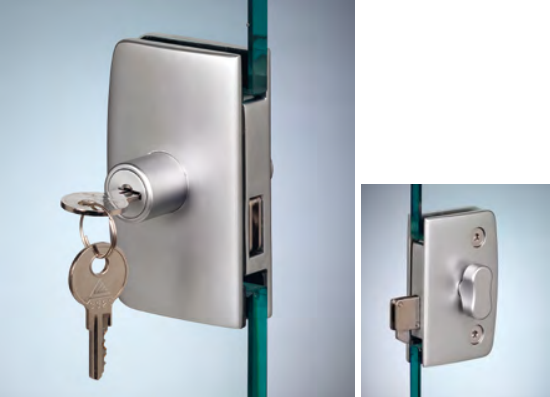 Serratura serie 400 serratura / pomello ante scorrevoli CHN28®