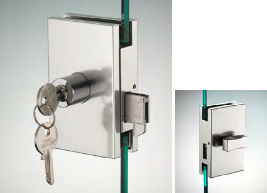Serratura serie hd square serratura/pomello ante scorrevoli DQS15®