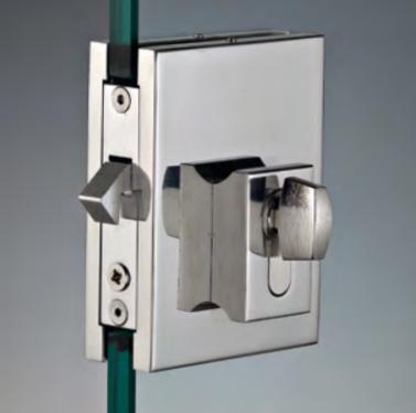 Serratura per scorrevoli sd900 con maniglia per trascinamento SERSD915®