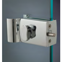 Chiusure serie 200 senza fori sul vetro chiusura con pomello serie 200 con maniglia CPM247®