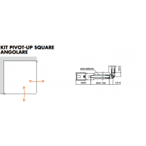 Kit pivot-up square angolare PTUPSQ207®