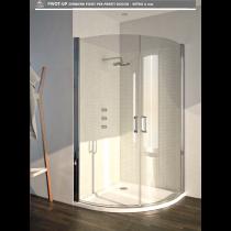 Pivot-up cerniera pivot per pareti doccia - vetro 6 mm pivot-up cerniera 2261 dx o sx PTUP2261