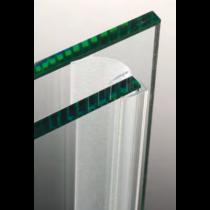 Guarnizione per pareti doccia con aletta laterale 8/10 mm GM014®