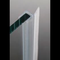 Guarnizione per pareti doccia con aletta dritta 8/10 mm GM04®