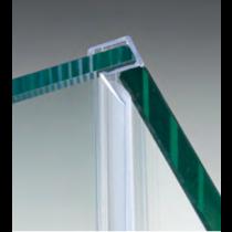 Garnizione con battuta 90° per vetri 6/8 mm GM58®
