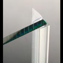 Guarnizione per pareti doccia con aletta dritta 6/8 mm GM70®