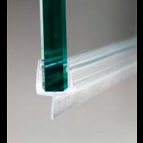 Guarnizione per pareti doccia con aletta centrale per vetri 6/8 mm GM80®
