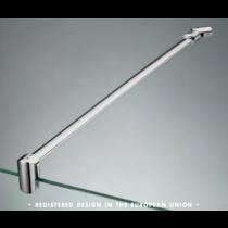 Asta di sicurezza muro/vetro con snodo a parete serie hd CHDA50®