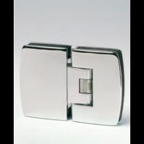 Cerniera serie 400 small regolabile vetro/vetro in linea per vetri 6/8 mm S1180®