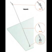Kit tirante Pensilina Glass Canopy Light GC-SNOD15®