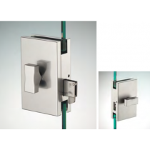 Chiusura serie hd square doppio pomello ante scorrevoli DQS13®
