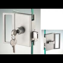 Serratura serie hd square serratura/pomello con maniglia ante scorrevoli DQS25®