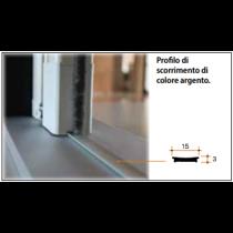 Profilo di scorrimento argento per Scenica® e Miniscenica®