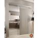 Sistema porta scorrevole alluminio LM750