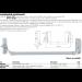 Maniglione antipanico MAP101-101BOLT-103