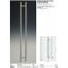 Maniglioncino MN25® alto inox doppio tondo per porte in vetro